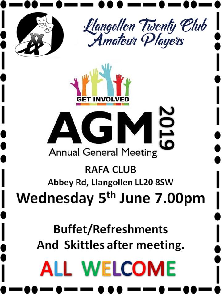 Llangollen Twenty Club AGM Notice